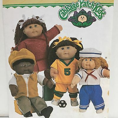 """Cabbage Patch Kids Doll Clothes 16"""" -21"""" Butterick 3745 Sew Pattern Unused G1"""