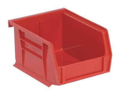 """Red Hang and Stack Bin, 5""""L x 4-1/8""""W x 3""""H QUANTUM STORAGE SYSTEMS QUS200RD"""