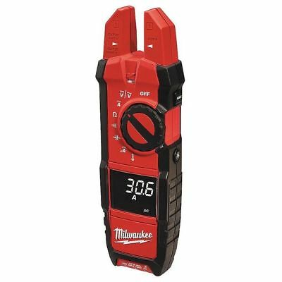 MILWAUKEE 2206-20 Digital Clamp Meter, 200A, 40 MOhms
