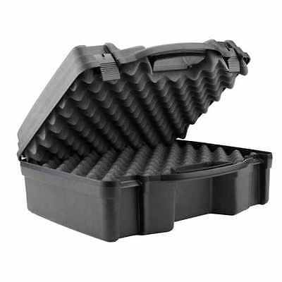 Plano Four Pistol Case Special Edition Padded Black Box 994008 Airsoft Shooting