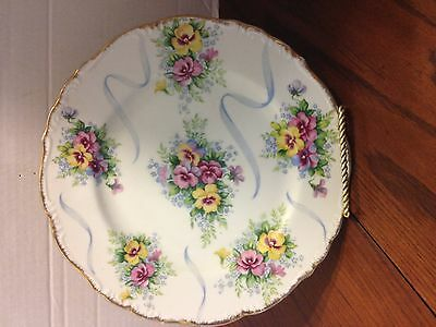 """Vintage SAJI Collector's 10"""" Plate Made in Japan w/ Stand"""