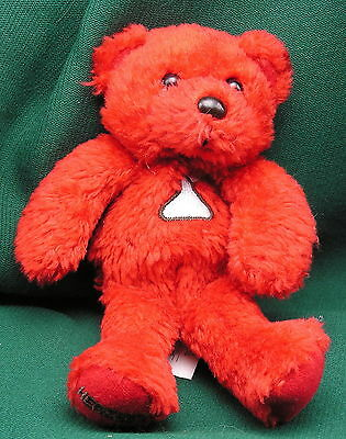 Hershey Kisses Plush Red Bear for Valentines Day - 1990s