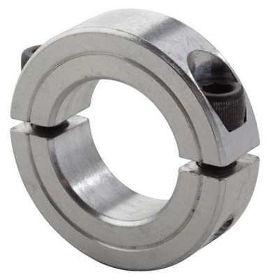 Shaft Collar,Clamp,2Pc,1 In,Aluminum CLIMAX METAL PRODUCTS 2C-100-A