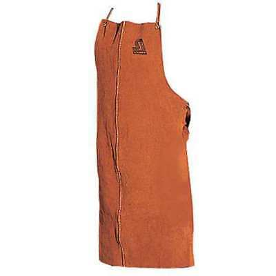 STEINER 12165 Welding Bib Apron, Leather, 36 x 24 In