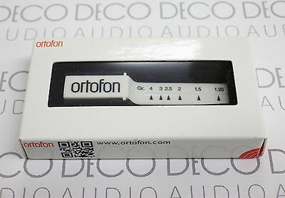 Ortofon Stylus Tracking Force Pressure Gauge Balance Scales mk2. Freepost DECO
