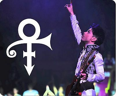 Prince Tribute Symbol & Guitar Mousemat