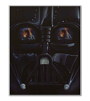 Star Wars Empire Strikes Back Darth Vader / Luke Skywalker 16x20 Poster