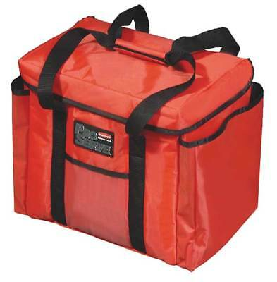 Sub, Sandwich Bag Insulated Delivery Bag, Red ,Rubbermaid, FG9F4000RED