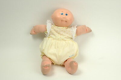 Coleco Cabbage Patch Kids Bald Preemie Blue Eyes 1984