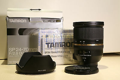 Tamron SP 24-70 mm f/2.8 Di VC USD Lens For Nikon *Reduced Price*