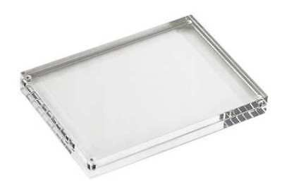 """7"""" Card Holder, Clear ,Tablecraft Products Company, ACH57"""