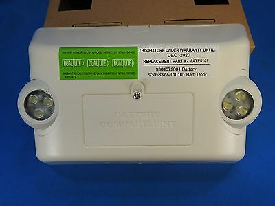 "NEW Hubbell Lighting 7-1/2"" Safety Emergency LED Light Dual-Lite EVHC6I-WM LAMPS"