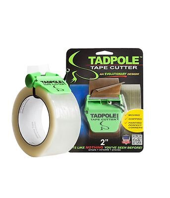 """Tadpole Tape Cutter 2"""" Dispenser Shipping Moving & Painting"""