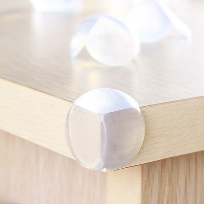 12Pcs Clear Table Desk Corner Edge Guard Cushion Baby Safety Bumper Protector