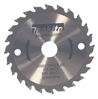 MAKITA 721005-A Crclr Saw Bld, Crbde, 3-3/8 In, 24 Teeth