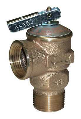 CASH ACME FWL-2 Safety Relief Valve, Bronze, 3/4in, 150 psi