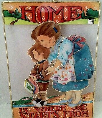 Mary Engelbreit Mother Child Artcatcher Enesco Housewarming Gift Wall Hanging