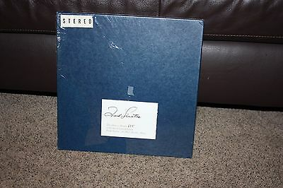 Frank Sinatra A Man and His Music Signed and Numbered Vinyl LP set PLEASE READ