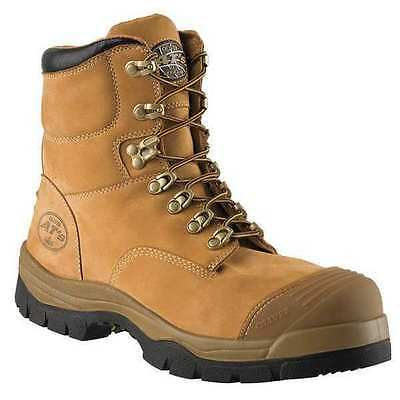 OLIVER 55232/130 Work Boots, Steel, 13 in, Leather, Tan, PR