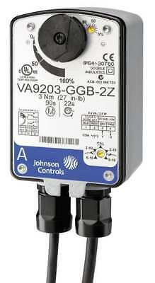 Electric Ball Valve Actuator, Johnson Controls, VA9203-GGA-2Z