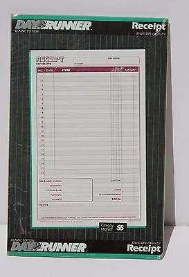 "Day Runner Receipt Envelope Classic Edition - 011-217 - 3 Rings - 5.5"" X 8.5"""