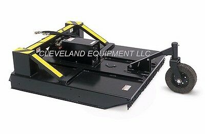 "72"" AMMBUSHER BRUSH CUTTER ATTACHMENT Skid Steer Loader Rotary Mower John Deere"