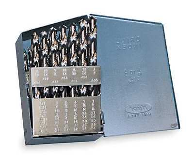 CHICAGO-LATROBE 57719 Screw Mach Drill Set, Heavy Dty, 29 PC, HSS