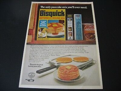 BISQUICK magazineads lot * coupon vintage