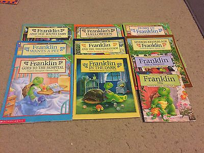 Franklin the Turtle Books By Paulette Bourgeois Lot of 10 (Paperback)