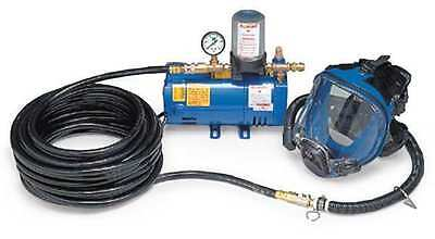 ALLEGRO 9200-01 Supplied Air Pump Package, 1 Ppl, 1/4 HP