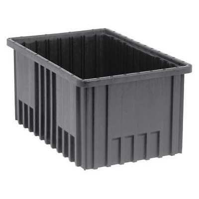 QUANTUM STORAGE SYSTEMS DG92080CO ESD Divider Box, 16-1/2x10-7/8x8 In, Black