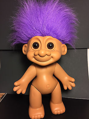 """HUGE Vintage 15"""" Russ Collection Troll Doll VERY CLEAN Nice Rare"""