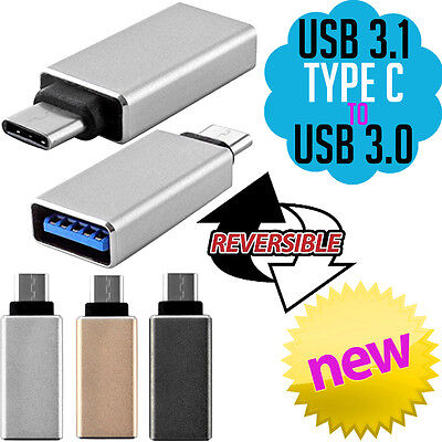 USB 3.1 Type C Male to USB 3.0 Female Adapter Converter USB-C Cable Smart Phone