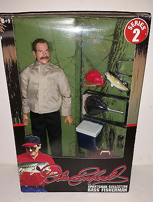 Dale Earnhardt Bass Fisherman Action Figure 2004 Outdoor Sportsman Collection