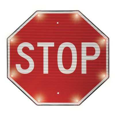 LED Indoor Stop Sign, Tapco, 2180-00390