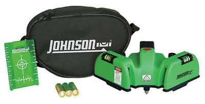 JOHNSON 40-6622 Line/Dot Laser Level, Int, Green, 150 ft.