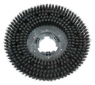 DAYTON 30XJ26 Scrub Brush, 15 in., Blk, Mfr. No. FANG15B