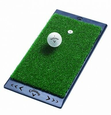 Callaway FT Launch Zone Golf Hitting Practice Mat, Portable Indoor/Outdoor Use