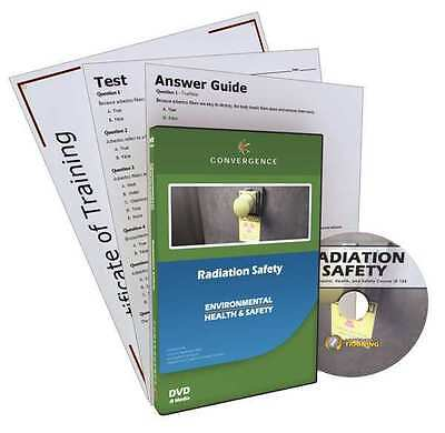 CONVERGENCE TRAINING 124 Radiation Safety, DVD