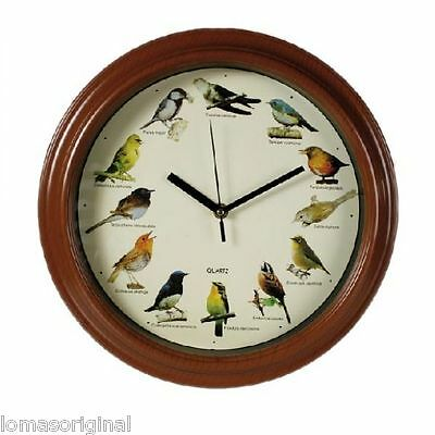 Watch Wall Home With Sound Melody Birds Pajaros Gift Original Nature