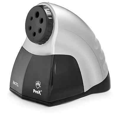 X-Acto ProX Electric Pencil Sharpener with Smart Stop, Gray and Black (1612)