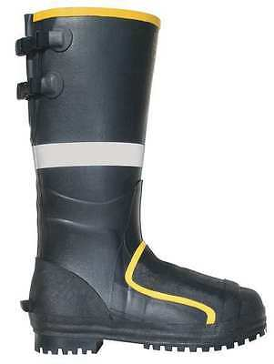 Size 10 Miner Boots, Men's, Black, Steel Toe, Tingley