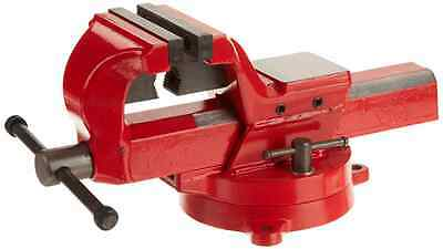 Yost Vises FSV-4 4-Inch Heavy-Duty Forged Steel Bench Vise with 360-Degree Swive