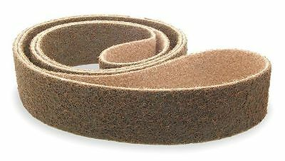WESTWARD 11N355 Sanding Belt, 2 In Wx72 In L, AO, 80GR