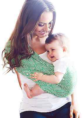 HOTSLINGS Adjustable Pouch Baby Carrier Sling, Regular, Green