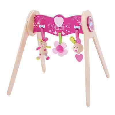 Bigjigs Toys Bella Baby Gym with Soft Plush Toys