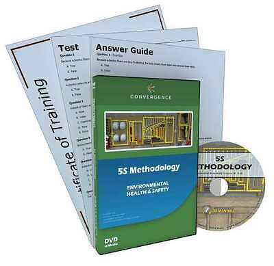 CONVERGENCE TRAINING 353 5S Methodology, DVD, English