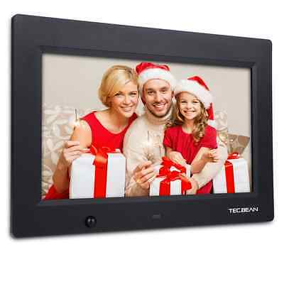 """TEC.BEAN 10.1"""" 16G HD Digital Photo Frame with Built-in Storage Motion Detection"""