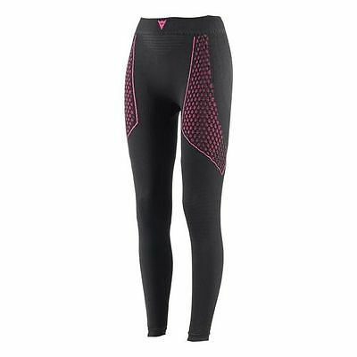 Dainese D-Core Thermo Ladies Pants Black Pink for Motorcycle Riding Winter Warm