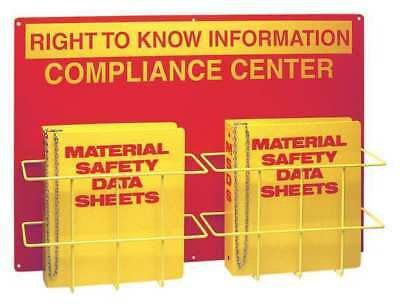 BRADY 2010DB Right to Know Compliance Center,20 In. H